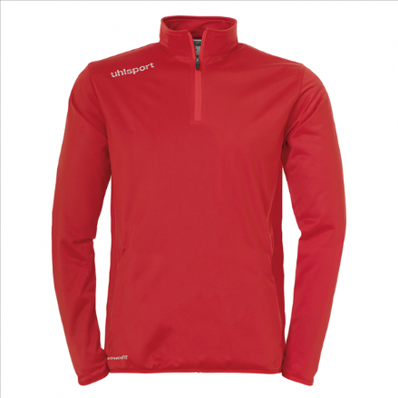 Essential 1/4 Zip Top Red / White